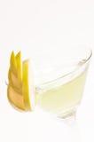 绿色Apple马蒂尼鸡尾酒关闭 库存图片