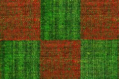 绿色grunge格子花呢披肩红色 免版税图库摄影