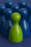 绿色iii领导 免版税库存照片