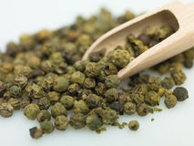 绿色peper 免版税库存图片