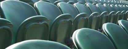 绿色s供以座位Wimbledon 库存照片