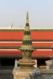 绿色stupa 免版税图库摄影