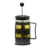 绿茶茶壶 免版税库存图片