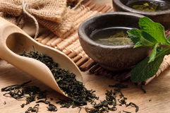 绿茶 免版税库存图片