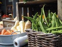 绿豆和其他菜篮子  免版税库存图片