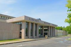 缅因州立图书馆在奥古斯塔,我,美国 库存照片