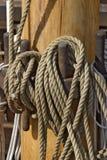 缅因帆柱 免版税库存照片