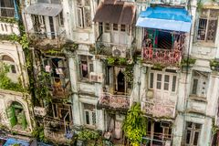缅甸仰光 图库摄影