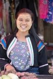 缅甸女孩在泰国 图库摄影
