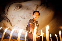 缅甸女孩 免版税图库摄影
