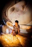 缅甸女孩 免版税库存图片