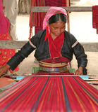 缅甸妇女 免版税库存照片
