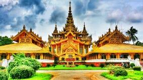 缅甸宫殿 免版税库存图片