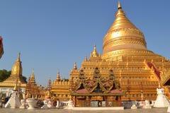 缅甸寺庙 图库摄影
