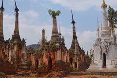 缅甸寺庙 库存照片