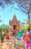 缅甸玩具 库存照片