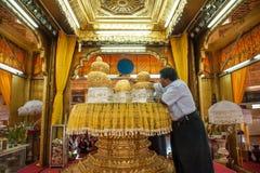 缅甸生活 库存图片