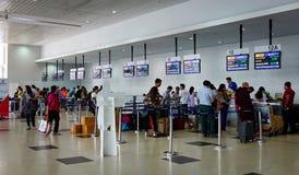 缅甸的仰光国际机场 库存图片