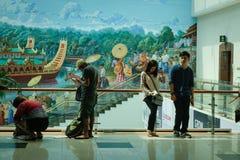 缅甸的仰光国际机场 库存照片