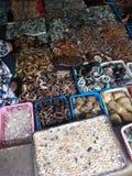 从缅甸的宝石商店 库存照片