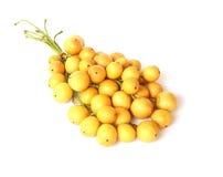 缅甸的泰国果子葡萄当地的rambai 免版税库存图片