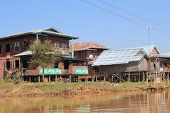 缅甸的Inle湖 免版税图库摄影