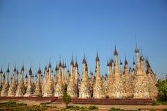 从缅甸的Kakku 免版税库存图片