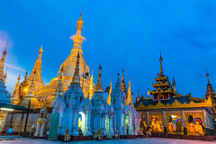 缅甸的Shwedagon塔 免版税库存图片
