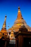 缅甸缅甸塔schwedagon仰光 图库摄影
