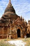缅甸缅甸异教的废墟 图库摄影