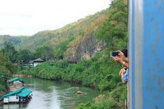 缅甸铁路 免版税库存图片