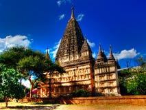 缅甸, Bagan -摩诃菩提寺 免版税图库摄影