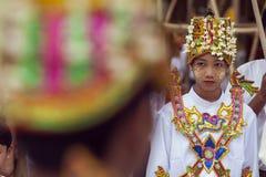 缅甸-仰光-伟大的SHWEDAGON塔 免版税库存照片