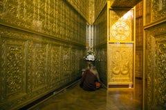 缅甸-仰光- Botahtaung塔 免版税库存照片