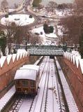 缆索铁路的布达佩斯 库存照片