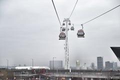 缆车在伦敦 库存照片