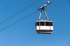 缆车在市直布罗陀 图库摄影