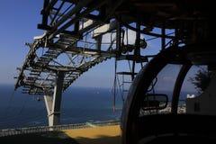 缆车驻地在海法 免版税库存图片