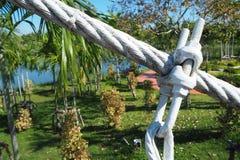 缆绳连接 库存照片