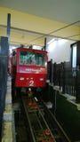 缆索铁路在热那亚 免版税库存照片