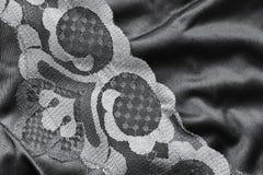 缎和鞋带 免版税图库摄影