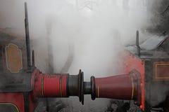 缓冲引擎蒸汽 免版税图库摄影