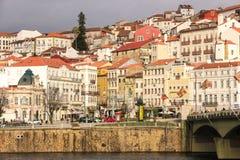 缓慢地da Portagem科英布拉 葡萄牙 免版税库存图片