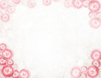 编排者 抽象欢乐花卉背景 库存图片