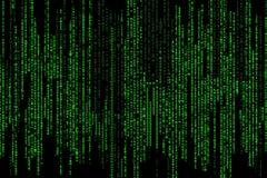 编码矩阵 免版税库存图片
