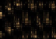 编码神秘的光芒x 库存图片