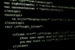 编码html互联网 库存图片