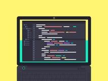 编程和编码概念 免版税库存图片