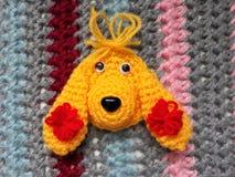 编织是灵魂的艺术! 免版税库存图片
