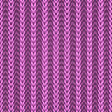 编织桃红色无缝的织品 免版税库存照片
